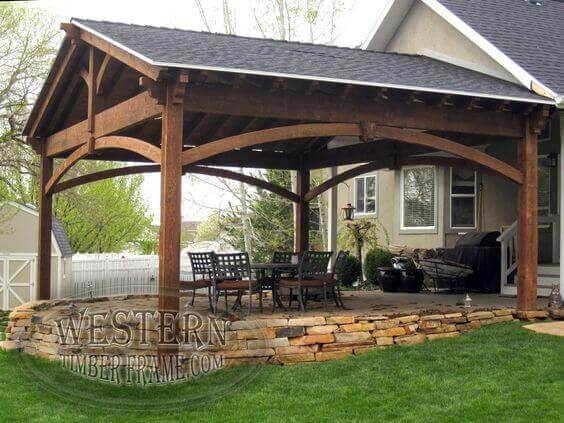 Covered Deck Ideas For Your Home Amazing Designs Backyard Work
