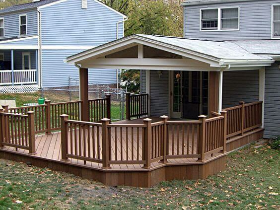 Covered Deck Ideas for Your Home (Amazing Designs ... on Uncovered Patio Ideas id=16182