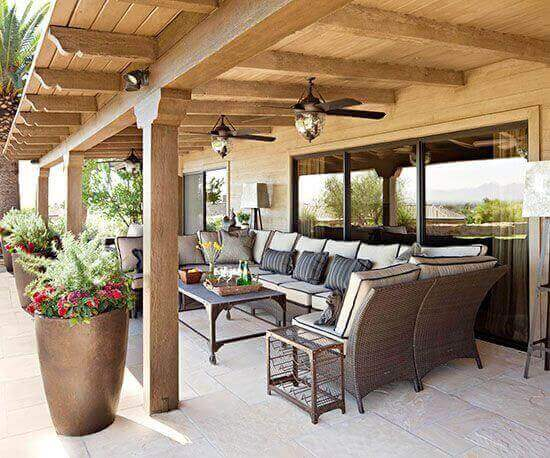 Covered Deck Ideas for Your Home (Amazing Designs ... on Covered Back Deck Ideas id=49441